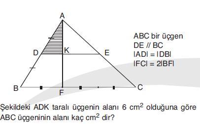 KPSS Matematik Denemesi 1