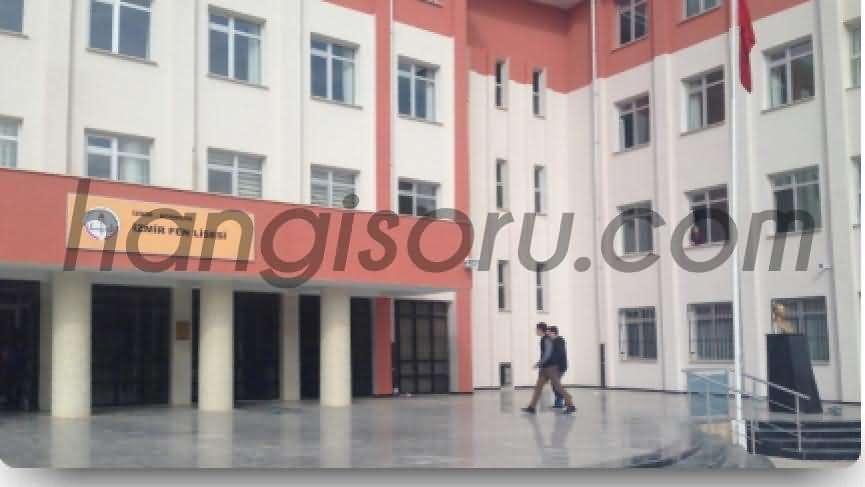 İzmir Fen Lisesi Resim