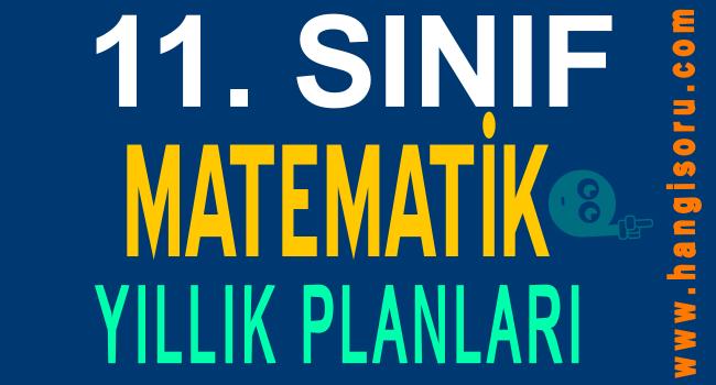 11. Sınıf Matematik Yıllık Planları