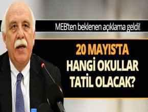 20 Mayıs Cuma Tatil mi? (2016)