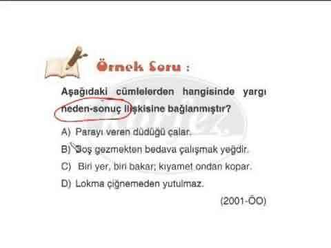 8. Sınıf Türkçe Cümlede Anlam Konu Anlatımı