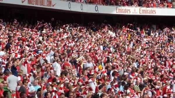 Arsenal-taraftari