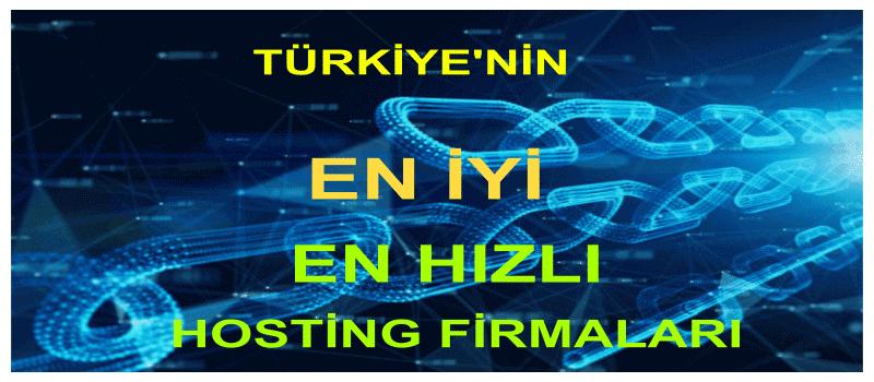 Türkiye'nin En İyi Hosting Firmaları