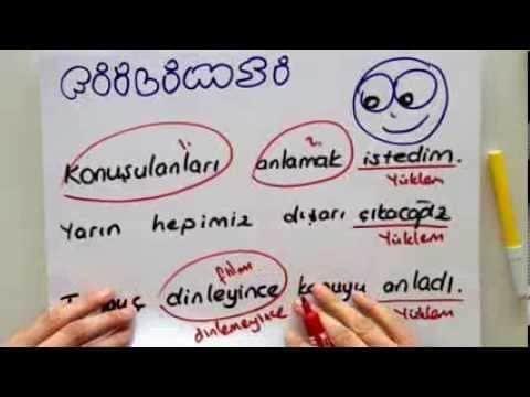 Fiilimsiler (Eylemsi) Konu Anlatımı (Video) 36
