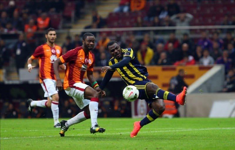 Galatasaray Fenerbahçe Derbisinden Fotoğraflar