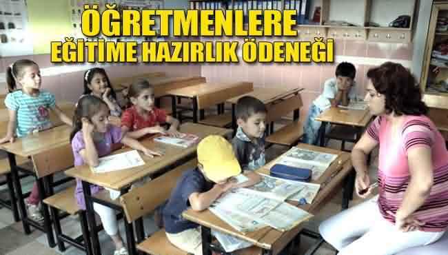 öğretmenler.in öğretmen hazırlık ödeneği