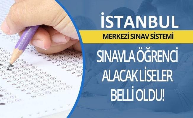 İstanbul Sınavla Öğrenci Alacak Liseler Listesi (MEB)