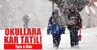 İstanbul Valisinden Kar Tatili Açıklaması!