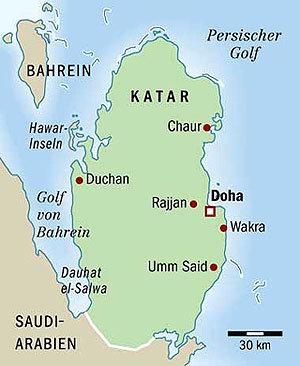 Katar Nerede? Dili, Nüfusu, Başkenti, Para Birimi