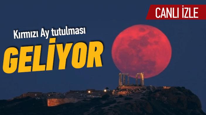 Kırmızı Ay Tutulması Ne Zaman Olacak? Hangi Ülke Görecek?