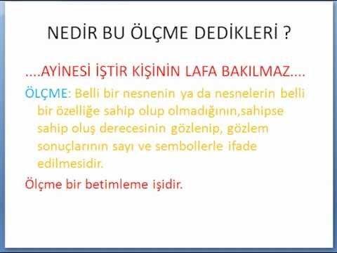 KPSS ÖLÇME VE DEĞERLENDİRME-1