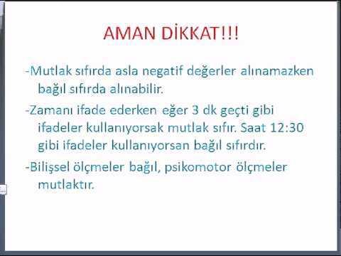 KPSS ÖLÇME VE DEĞERLENDİRME-2