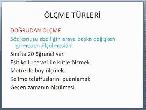 KPSS ÖLÇME VE DEĞERLENDİRME-3