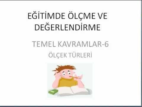 KPSS ÖLÇME VE DEĞERLENDİRME-6
