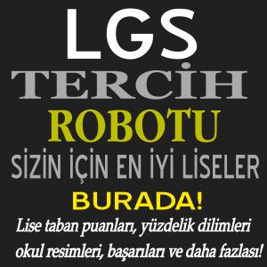 LGS Tercih Robotu 2020