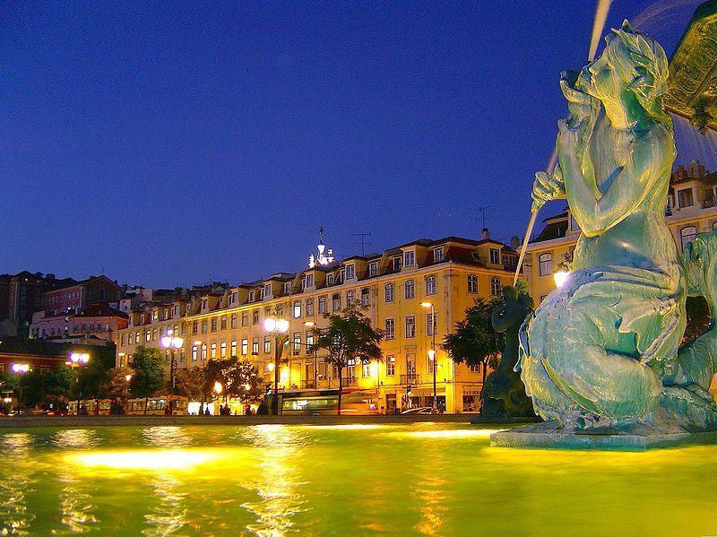 lizbon-gece-manzarasi