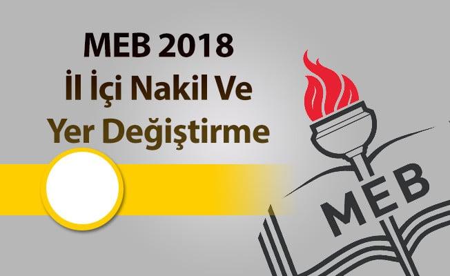 Sınıf Öğretmenliği Türkiye Geneli İl İçi Kontenjanları 2018
