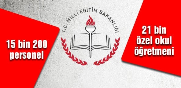 Milli Eğitim Bakanlığı'nda 15.200 Personel Açığa Alındı!