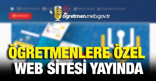 MEB'in Öğretmenlere Özel Yaptığı Websitesi Açıldı