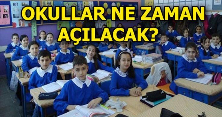 Okullar Ne Zaman Açılacak? Cumhurbaşkanı Açıkladı