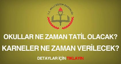 Okullar Ne Zaman Kapanacak? (2015)