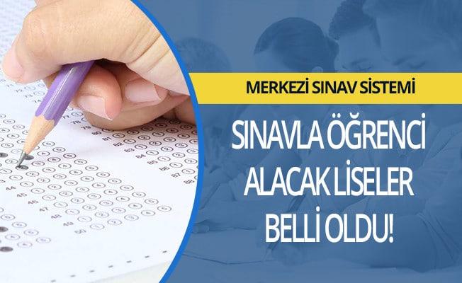 MEB: Sınavla Öğrenci Alacak Okullar Listesini Yayınladı!