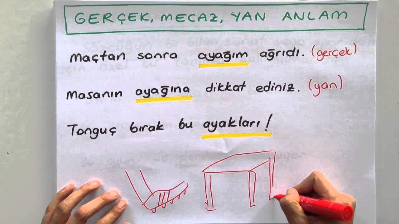 Sözcükte Anlam Konu Anlatımı (Video)