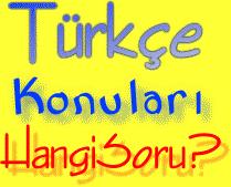 6. Sınıf Türkçe Konuları Neler?