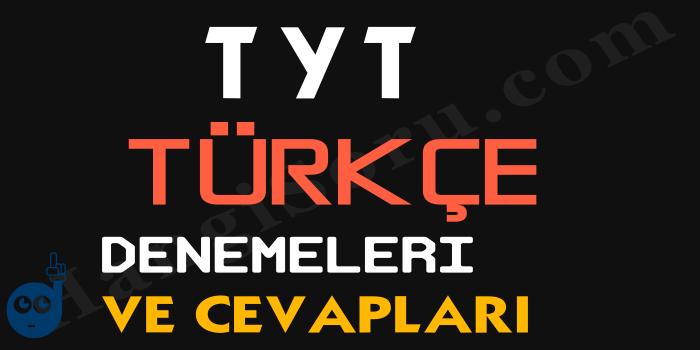 TYT Türkçe Deneme Sınavı PDF İndir