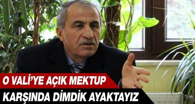 Yalova Valisi Selim Cebiroğlu'na Açık Mektup