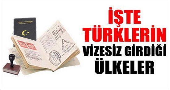 Türkiye'den Hangi Ülkeler Vize İstemiyor?
