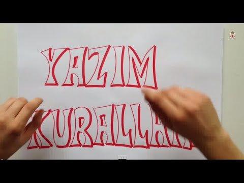 Yazım Kuralları Konu Anlatımı (Video)